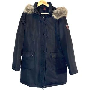 Canadiana 3/4 length down filled winter coat